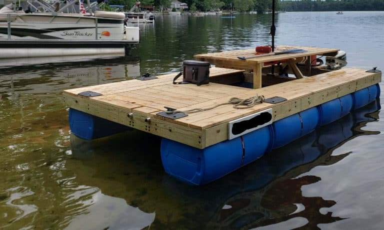 27 Homemade Pontoon Boat Plans You Can DIY Easily