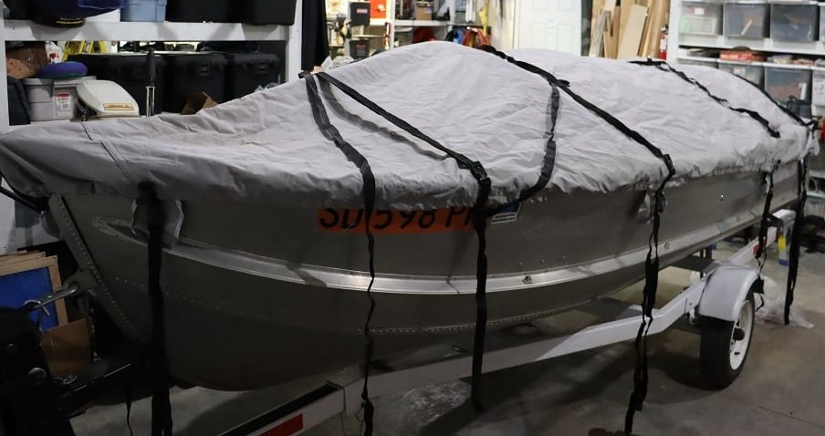 DIY Small Boat Cover Frame – Bound to Journal