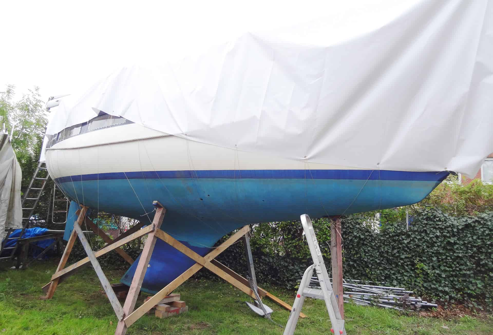 DIY Tarpaulin for Your Yacht A Low-Cost Alternative