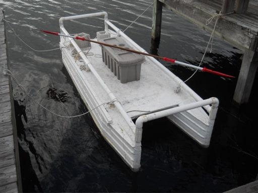 Homebuilt Pontoon BoatDouble-Hull Kayak