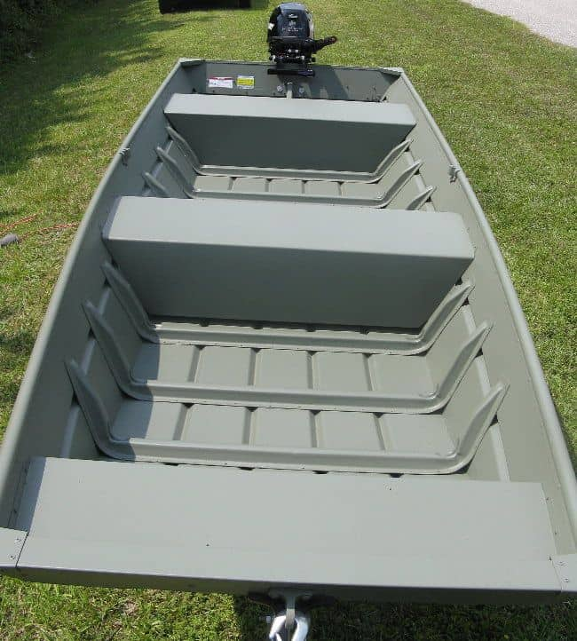 How to Paint an Aluminum Jon Boat - Bottompaintstore.com