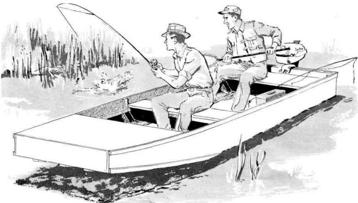 Jon Boat Plan – Vintageprojects.com