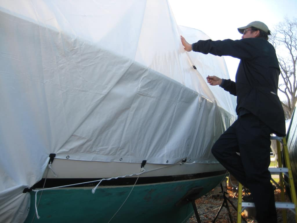Our DIY boat cover – Adventures on the Club