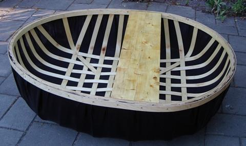 Plywood Lath Coracle