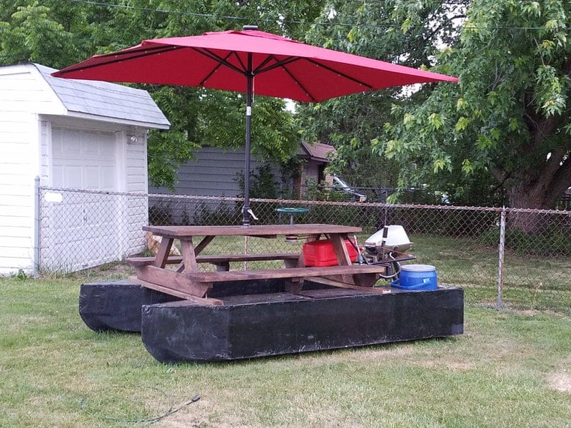 Pontoon Boat Picnic Table 8 Steps (with Pictures) – Instructables